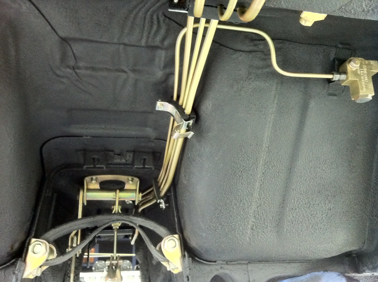brake and fuel line insulators